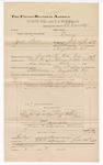 1889 June 30: Voucher, U.S. v. Zack Still, larceny; includes cost of mileage; Jacob Yoes, late U.S. marshal; B. Connelly, deputy marshal; E.B. Harrison, commissioner; G.H. Lewis, et al., witnesses