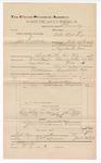 1889 June 30: Voucher, U.S. v. Joe Dutater, introducing spirituous liquors ; includes cost of mileage; Jacob Yoes, late U.S. marshal; B. Connelley, deputy marshal; E.B. Harrison, commissioner; Johnson Fields, et al., witnesses