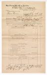 1889 June 30: Voucher, U.S. v. Sam Brown, larceny; includes cost of mileage; John Carroll, U.S. marshal; G.G. Tyson, deputy marshal; Stephen Wheeler, commissioner