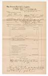 1889 June 30: Voucher, U.S. v. John Thorneby, introducing spirituous liquors ; includes cost of mileage; John Carroll, U.S. marshal; J.W. Salmon, deputy marshal; Stephen Wheeler, commissioner; Bo Scott, witness