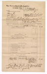 1889 June 30: Voucher, U.S. v. Newt Lee and William Moore, larceny; includes cost of mileage; John Carroll, U.S. marshal; J.M. Ermus, deputy marshal; Stephen Wheeler, commissioner; Alford Brown, Mrs. Robuck, Draton Goodin, J.B. Turner, Elijah Common, witnesses