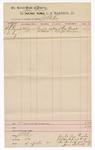 1889 June 30: Voucher, U.S. v. W.L. Reynolds, larceny; includes cost of mileage; John Carroll, U.S. marshal; J.B. Lee, deputy marshal; One Simple, John Simpson, subpoena served
