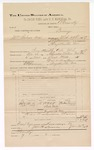 1889 June 30: Voucher, U.S. v. William Silcox et al., larceny; includes cost of mileage; Jacob Yoes, late U.S. marshal; B. Connelley, deputy marshal; E.B. Harrison, commissioner; Martin Lamon et al., witnessnes