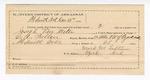 1889 December 13: Letter of certification, for employment of Mark M. Laftin, guard; Joseph Van Meter, prisoner; C.A. Pullen, deputy marshal