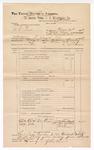 1889 June 30: Voucher, U.S. v. C.C. Perk; includes cost of subpoena for witnesses; J.W. Salmon, deputy marshal; John Carroll, U.S. marshal; Oskar Taylor, John Childers, John Tuner, witnesses