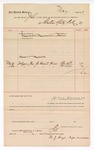 1889 May 20: Voucher, to Sebastian County; includes cost for digging graves for prisoners: Allen Hill, William Wilcox; John Carroll, U.S. marshal; H.J. Hays, pauper commissioner