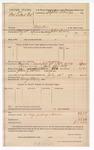 1889 July 26: Voucher, U.S. v. Foot Dillard, murder; includes cost of mileage and feeding prisoners; John Swain, deputy marshal; Stephen Wheeler, commissioner; George Elkins, posse comitatus