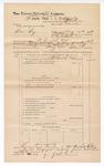 1889 June 30: Voucher, U.S. v. Ben Fry, murder; includes cost of mileage; J.W. Salmon, deputy marshal; John Carroll, U.S. marshal; James Brizzolara, commissioner