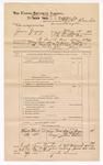 1889 June 30: Voucher, U.S. v. James Gregory, larceny;  includes cost of mileage; Charles Barnhill, deputy marshal; John Carroll, U.S. marshal; Ellick Rogers, One McLain, Alias Hines, witnesses; James Brizzolara, commissioner