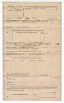 1889 July 24: Voucher, U.S. v. John Stafford, retail liquor dealer; John Swain, deputy marshal; Matt Cook, posse comitatus; includes cost of mileage; Sam Johnson, guard