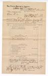 1889 June 30: Voucher, U.S. v. Oliver Dees, larceny; Charles Barnhill, deputy marshal; John Carroll, U.S. marshal; J. Coffee, Martha Scott, witnesses; James Brizzolara, commissioner