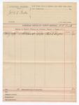 1889 June 15: Voucher, U.S. v. James W.E. Tucker; includes cost of mileage; D.V. Rusk, deputy marshal; Phil S. Snyder, witness