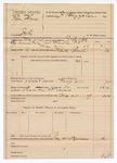 1889 May 25: Voucher, U.S. v. Elias Thomas, introducing spiritous liquor; J.B. Lee, deputy marshal; James Brizzolara, commissioner; John Carroll, U.S. marshal