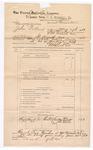 1889 June 30: Voucher, U.S. v. John Pollard, assault with intent to kill; J.B. Lee, deputy marshal; James Brizzolara, commissioner; One Petitt, M.C. Histon, witnesses; John Carroll, U.S. marshal