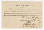 1889 May 29: Oath of Office, Sterling P. McLaughlin, U.S. marshal