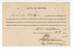 1889 May 29: Oath of Office, Calvin Whitson, U.S. marshal