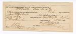 1889 May 31: Voucher, U.S. v. Jonathan Pollard, assault; W.M. Davis, guard; John Carroll, U.S. marshal; One Pettis, M.C. Horton, witnesses; includes cost of mileage and feeding prisoners; J.B. Lee, deputy marshal