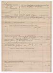 1889 July 13: Voucher, U.S. v. George Bennett, introducing and selling spirituous liquors; S.P. Mclaughlin, deputy marshal; Charles Price, posse comitatus; Stephen Wheeler, commissioner
