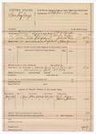 1889 July 10: Voucher, U.S. v. Sandy Gonge; S.P. McLaughlin, deputy marshal; Stephen Wheeler, commissioner; W.J. Logan, James Johnson, witnesses; includes cost of mileage and feeding prisoner