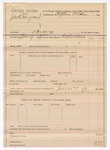 1889 June 2: Voucher, U.S. v. Jack Hargraves, larceny; includes cost of mileage; R.B. Creekmen, deputy marshal; Stephen Wheeler, commissioner
