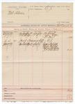 1889 June 26: Voucher, U.S. v. Mat Adams; Charles Barnhill, deputy marshal; Dr. Rush, John Ellis, Dr. Foyd, witnesses; Oscar Triplett, Oliver Triplett, Calvin Hutchins, J.T. Minehart, witnesses in U.S. v. Joseph Tummacliff; includes cost of mileage