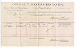 1889 June 24: Voucher, U.S. v. L.D. Leard, larceny; G.A. Clay, witness; Jacob Yoes, U.S. marshal; Stephen Wheeler, commissioner; includes cost of per diem and mileage