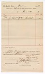 1889 July 19: Voucher, to Block & Co.; includes cost of spittoons for court house; S.A. Williams, chief deputy; Stephen Wheeler, clerk; I.M. Dodge, deputy clerk