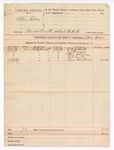 1889 July 9: Voucher, U.S. v. Allen Bacon, assault with intent to kill; Sam Minor, deputy marshal; G. W. Abbott, J.T. Thomas, Tom Solomon, Ed Carter, Ben Cantrell, witnesses