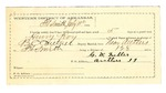 1889 July 12: Voucher, U.S. v. Henry Roy and Luther Jones, larceny; B.C. Cantrell, deputy marshal; Stephen Wheeler, commissioner; Charley Teel, posse comitatus; G.W. Fuller, guard; One Pursley, Adam Pursley, witnesses; includes cost of mileage and feeding prisoner