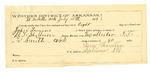 1889 July 18: Voucher, U.S. v. John Lemons, assault with intent to kill; B.T. Shelburne, deputy marshal; Stephen Wheeler, commissioner; Lem Thornton, guard; includes cost of mileage and feeding prisoner