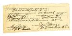 1889 July 13: Voucher, U.S. v. Alex Harjo, introducing spiritous liquor; S.P. McLaughlin, deputy marshal; Stephen Wheeler, commissioner; Joseph Moser, guard; includes cost of mileage and feeding prisoners