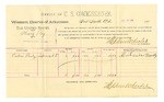 1889 July 16: Voucher, U.S. v. Henry Roy, larceny; Calvin Presley, witness; Jacob Yoes, U.S. marshal; Stephen Wheeler, commissioner; includes cost of per diem and mileage