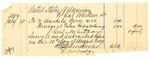 1889 July 30: Voucher, U.S. v. Taylor Post Oak, larceny; Cal Whitson, deputy marshal; Stephen Wheeler, commisisoner; W.E. Hassell, Chepan Pobico, Big Bird, witnesses; includes cost of ferriage, bushels of corn, and subsistence for self; I.M. Dodge deputy clerk; Stephen Wheeler, clerk