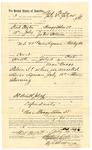 1889 July 26: Voucher, to Fred Taylor, of Bragg Station, Cherokee Nation, for assisting John Salmon, deputy marshal, in U.S. v. Lewis Lyman, retail liquor dealer; Stephen Wheeler, clerk; I.M. Dodge, deputy clerk; Jacob Yoes, U.S. marshal; includes cost of daily wage