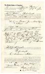 1889 August 13: Voucher, to James Wallace, of Fort Smith, Arkansas, for assisting Heck Thomas, deputy marshal, in U.S. v. Caeser James et al., perjury; Stephen Wheeler, commissioner; I.M. dodge, deputy clerk; Jacob Yoes, U.S. marshal