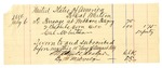 1889 August 5: Voucher, U.S. v. Jesse Cheese, introducing spiritous liquors; Cal Whitson, deputy marshal; Stephen Wheeler, commissioner; Thomas P. Owens, posse comitatus; Zack Vann, guard; includes cost of provisions, ferriage, and subsistence for self