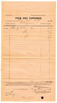 1893 October 13: Voucher, to G.G. Tyson, deputy marshal; includes cost for fees and expenses; Jacob Yoes, U.S. marshal; Frank S. Germany, notary public