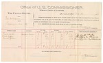 1889 October 15: Voucher, U.S. v. Ben Williams, larceny; Frank Carter, Albert Gary, Emma Gordon, witnesses; Jacob Yoes, U.S. marshal; James Brizzolara, commissioner; includes cost of per diem and mileage