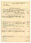 1889 December 20: Voucher, U.S. v. George Brown, introducing and selling spiritous liquor; George E. Williams, deputy marshal; includes cost of mileage, lodging and feeding self and prisoner