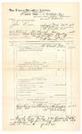 1889 June 30: Voucher, U.S. v. John Deeke, introducing spiritous liquor; John Swain, deputy marshal; John Carroll, U.S. marshal; Thomas Satterfield, Robert Bradley, witnesses; Stephen Wheeler, commissioner
