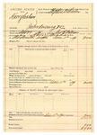 1889 December 11: Voucher, U.S. v. Harry Graham, introducing and selling spiritous liquor; George E. Williams, deputy marshal; Stephen Wheeler, commissioner