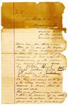 1889 September 7: Application for writ, U.S. v. John Billy et al., murder; Joseph Jackson, Wallace Fob, Dallas Busch, witnesses; Stephen Wheeler, clerk