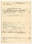1889 October 7: Voucher, U.S. v. Dave Stivman, violating internal revenue law; Daniel Shapman, deputy marshal; E.B. Harrison, commissioner; T.P. Reed, Edward Carlisle, witnesses; includes cost of mileage and service