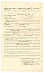 1889 October 3: Mittimus, U.S. v. Charles Brown, retail liquor dealer; Stephen Wheeler, clerk; I.M. Dodge, deputy clerk; Jacob Yoes, U.S. marshal; W.B. Pape, jailer; R.B. Creekmore, deputy marshal