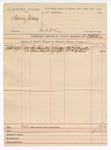 1890 March 28: Voucher, U.S. v. Seborn Jones, introducing spiritous liqours; includes cost of subpoenas for witnesses; Thomas J. Busby, William M. Reed, witnesses; W.B. Killion, deputy marshal
