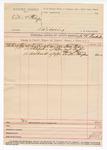 1890 May 2: Voucher, U.S. v. Eaton and Phillips, larceny; James K. Pemberton, deputy marshal; Steve Tehee, Jack Porter, Sam Fair, Buster Hughes, witnesses