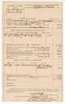 1890 May 19: Voucher, U.S. v. George Holcomb and James Lung, larceny; includes cost of mileage, lodging, and feeding of prisioner; J.W. Gilkey, Frank Mallow, H. Swim, witnesses; William G. Askill, deputy marshal; Stephen Wheeler, commissioner; J.M. Dodge, deputy clerk; Jacob Yoes, U.S. marshal