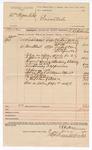 1890 June 03: Voucher, U.S. v. William Hogue et.al; inlcudes cost of goods sold before execution; E.B. Ratterree, deputy marshal; Stephen Wheeler, clerk