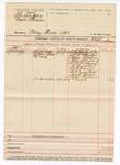 1890 April 8: Venire facias, commanding the summons of Seth S. Warbuck Jr., J.H. McPherson, James F. Wilson, John Howard, Dr. W.W. Savage, R. Brooks, W.H. Davis, C.A. Douglass, Joseph Orrmen, Evan Creekman, jurors; R.B. Creekman, deputy marshal