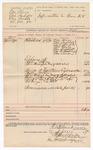 1890 June 2: Voucher, U.S. v. miscellanious goods; R.B. Creekman, deputy marshal; includes list of goods